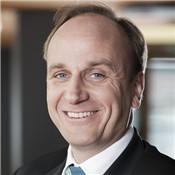芬欧汇川纸浆市场和销售副总裁Tomas Wiklund照片