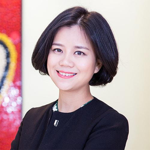 乐高教育中国区总经理陈佼莉照片
