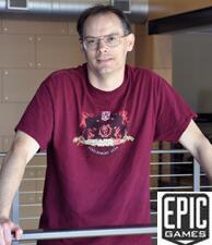 Epic GamesCEO&Unreal 引擎创始人Tim Sweeney照片