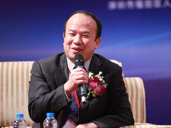 深圳市创新投资集团有限公司副总裁汤大杰照片