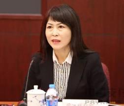 跨境银行间支付清算(上海)有限责任公司(CIPS)总经理张欣照片