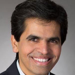 Keysight Technologies是德科技公司副总裁、无线设备测试方案总经理Kailash Narayanan照片