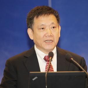 中国安全产业协会理事长肖健康照片