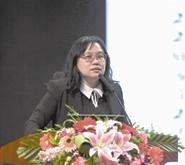 中国人民大学环境学院教授蓝虹照片