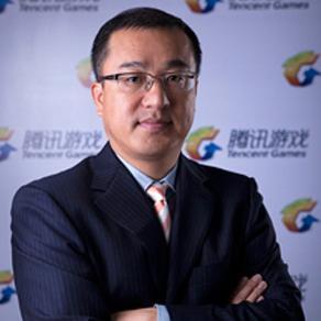 腾讯游戏副总裁吕鹏照片