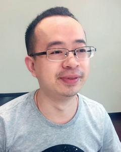 智美运动科技研发总监杨晖照片