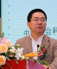 主任中国社会科学院公共政策研究中心朱恒鹏照片