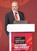 全球風能理事會  秘書長Steve Sawyer照片