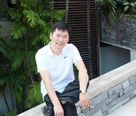上海星杰装饰公司董事长杨渊照片