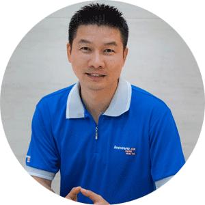 CEO联想17TV魏晋照片