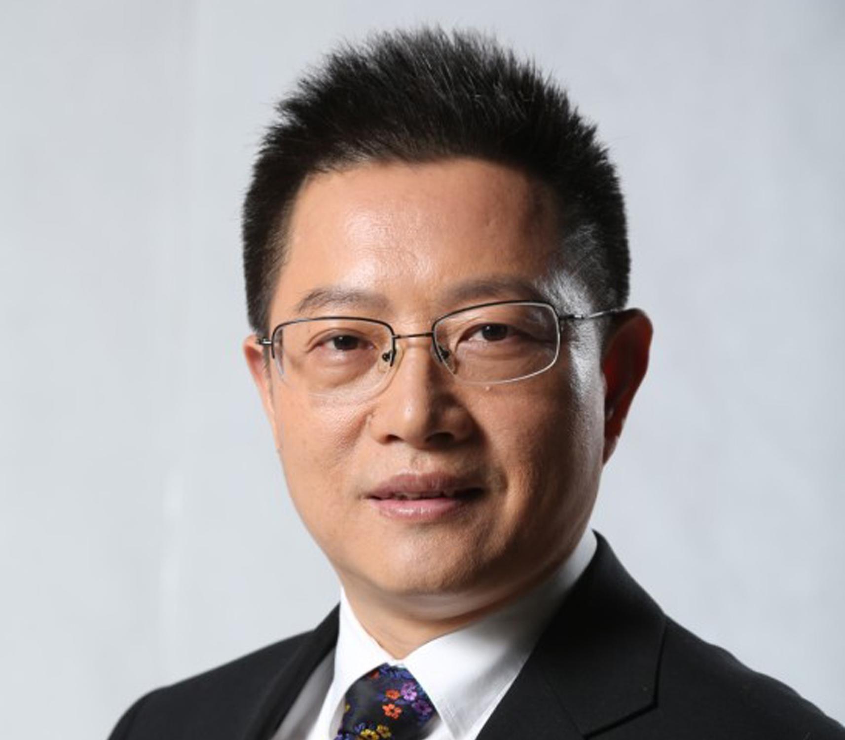 北京爱慕内衣有限公司董事长、总裁张荣明照片