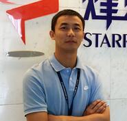 南京烽火星空通信發展有限公司產品總監朱晶晶照片