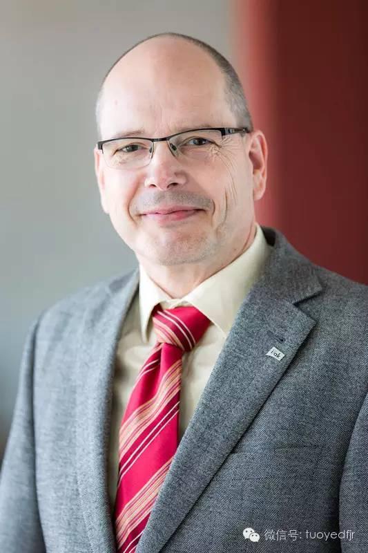 德国ifak自动化与通信技术研究院技术部经理、教授Matthias Riedl照片