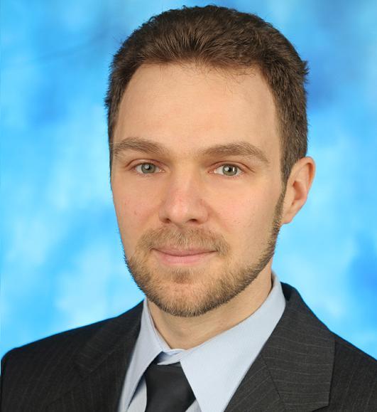 德国弗劳恩霍夫可靠性和微整合研究院商务开发经理 Rafael Jordan照片