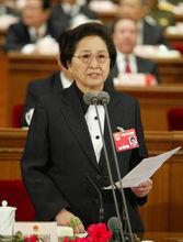 第十届全国人大常委会副委员长何鲁丽照片