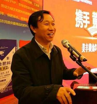中国农资传媒执行总编辑孙立新照片