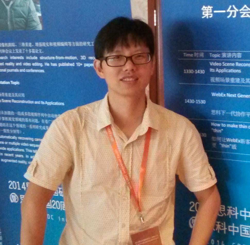 网易高级技术专家李宏林照片