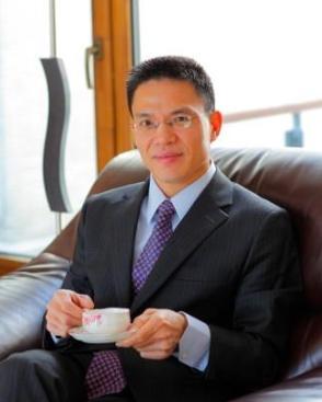 腾讯集团副总裁 彭志坚照片