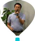 深圳貝特萊電子科技股份有限公司市場部總監潘志云照片