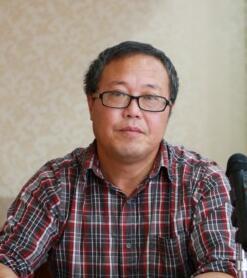 浙江人文园林有限公司副总经理陈煜初照片
