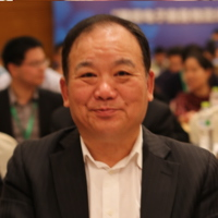 中国电子商务物流企业联盟顾问陈显宝照片