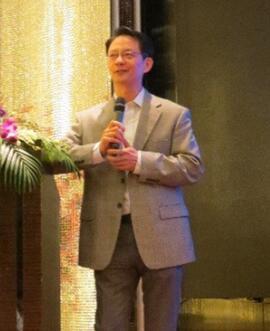 华海美国高级副总裁胡江滨照片