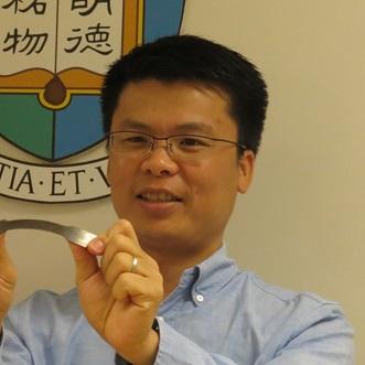香港大学机械工程系博士黄明欣照片