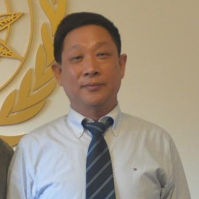 国际生态安全合作组织 副总干事安学礼照片