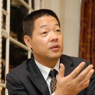 深圳居众装饰设计工程有限公司董事长刘海宁照片