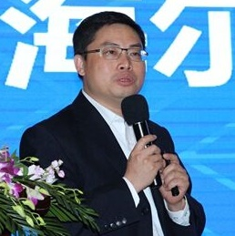 海尔家电产业集团数据战略发展总监孙鲲鹏照片