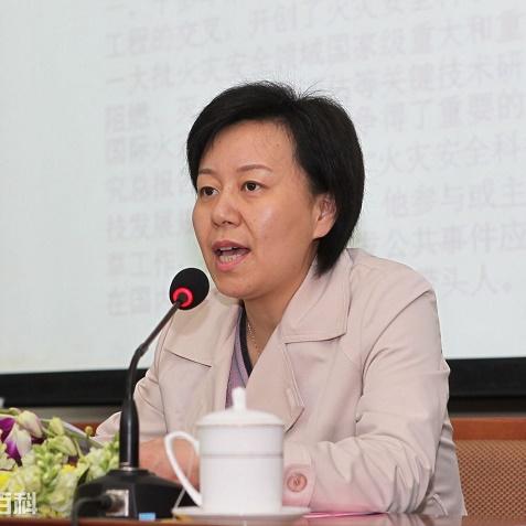 中国科学院前沿科学与教育局副局长王颖照片