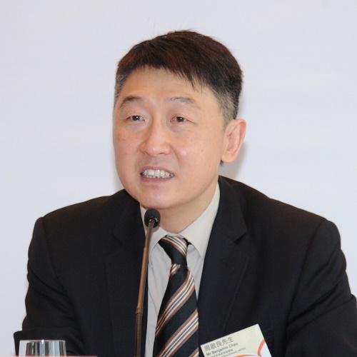 香港贸易发展局副总裁周启良照片