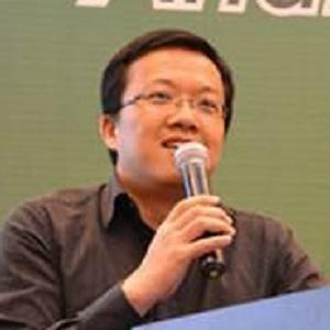 网心科技研发副总裁尹晟宇照片