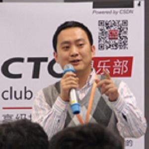 阿里云数字中国事业部总监潘立维照片