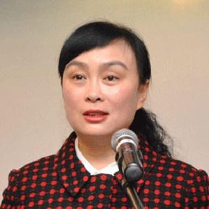 中国银联股份有限公司肋理总裁胡莹照片