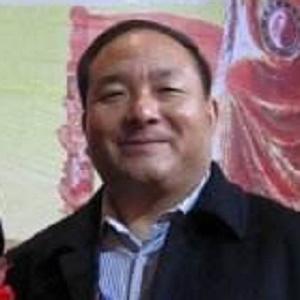 中华风水协会副会长杜岚峰照片