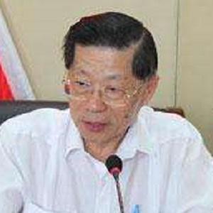 台湾文化艺术界联合会理事主席陆炳文照片