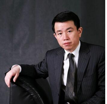 中国中建设计集团直营总部董事长、党委书记孙福春照片