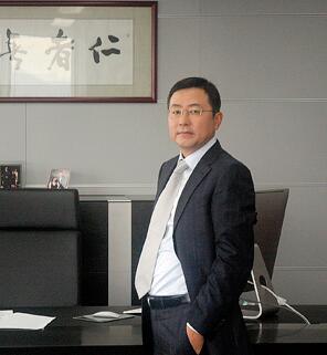 中集车辆董事总经理李贵平照片