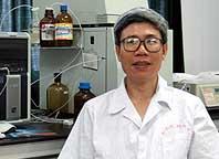 中山大学营养系教授蒋卓勤照片