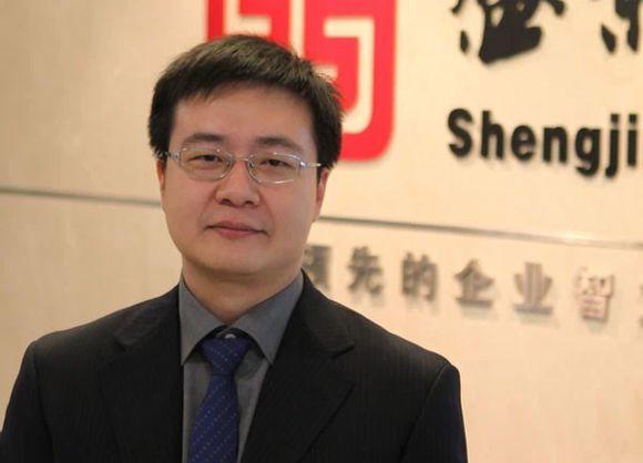 盛景网联咨询培训集团副总裁陈勇照片