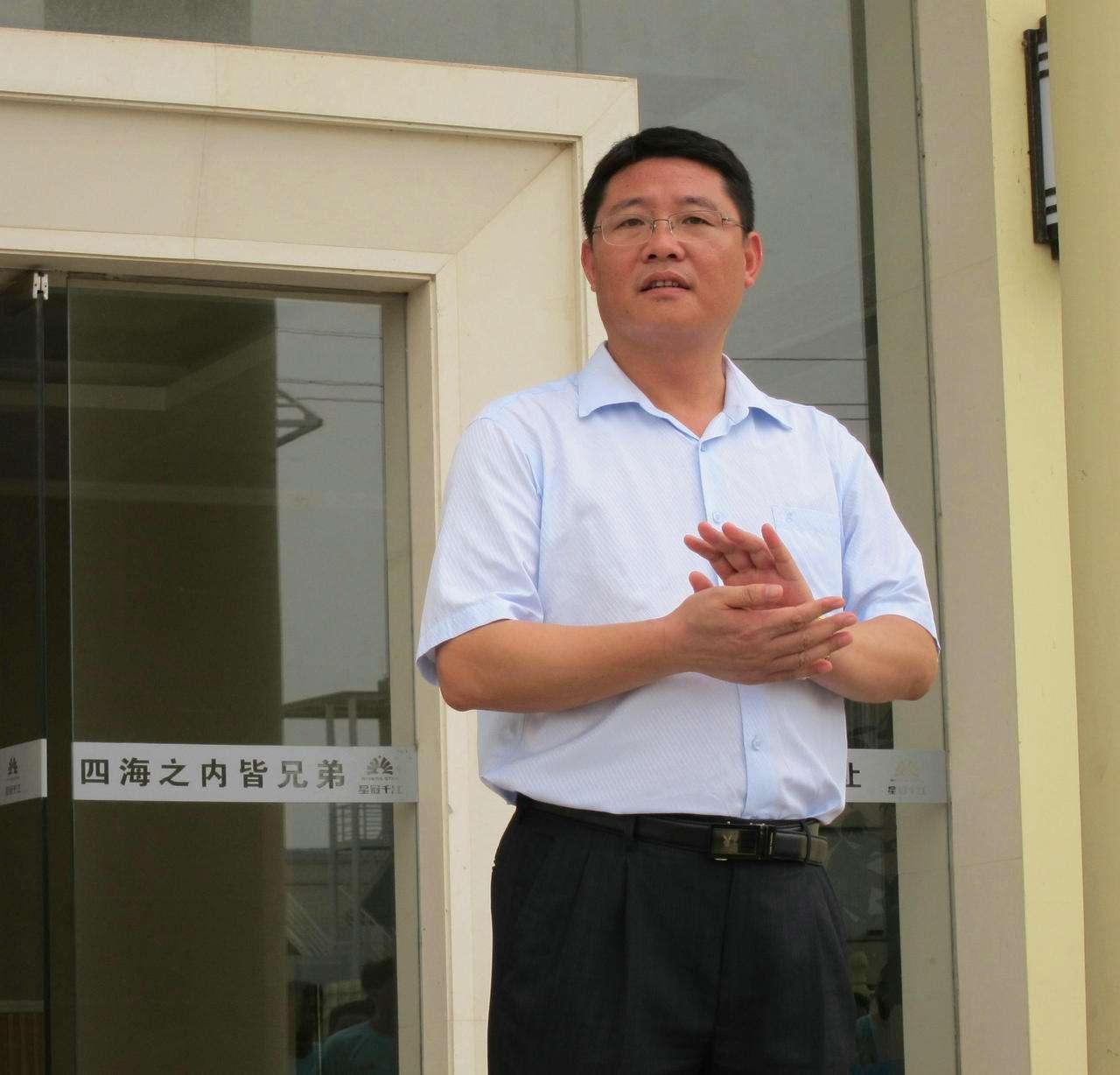 肇庆华莱特复合新型材料有限公司董事长陈应华