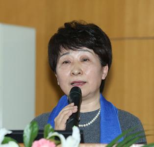 农业部信息中心副主任吴秀媛照片