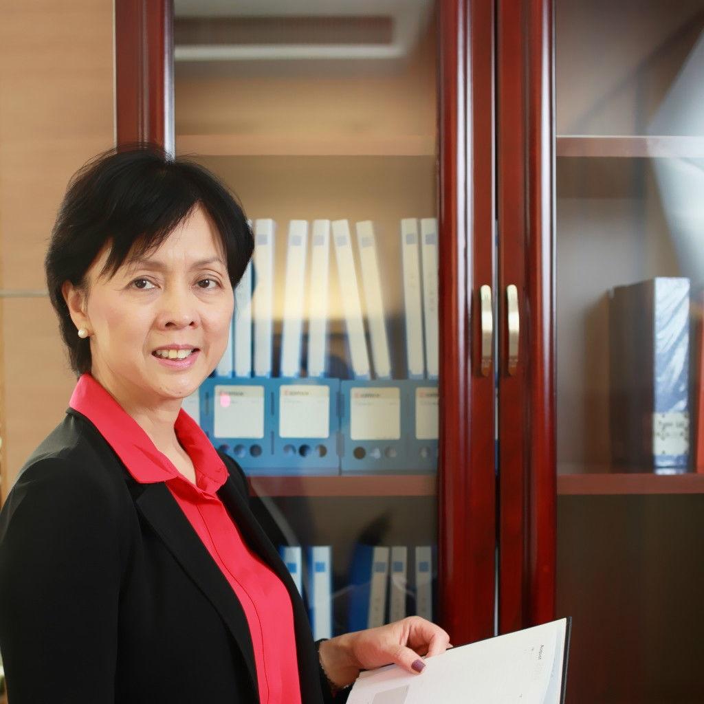 平安银行副行长蔡丽凤照片