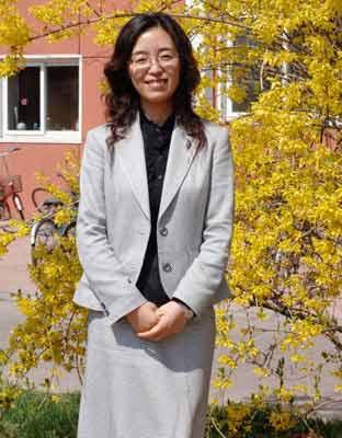 日本广岛市立大学国际学部国际学部副教授吉沅洪照片
