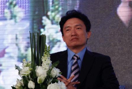 伽蓝(集团)股份有限公司执行总裁刘玉亮照片
