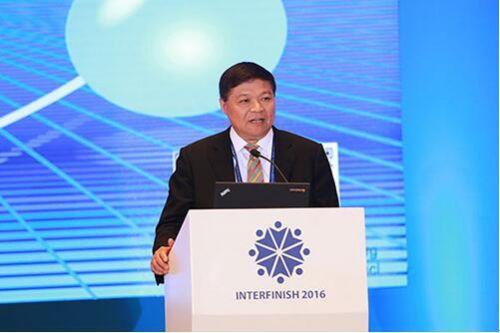中国表面工程协会副理事长兼秘书长马捷照片