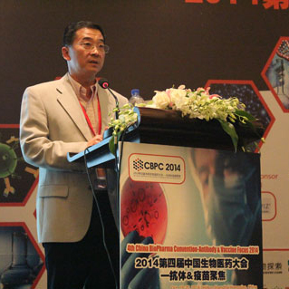 Amgen BiopharmaceuticalVice PresidentMingqiang ZHANG照片