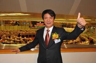 融創地產 執行董事黃書平照片