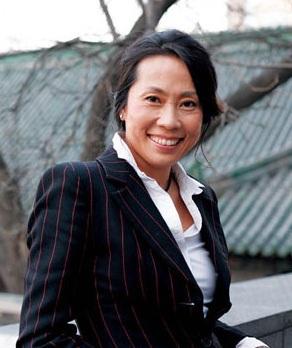 欧莱雅(中国)有限公司副总裁兰珍珍照片